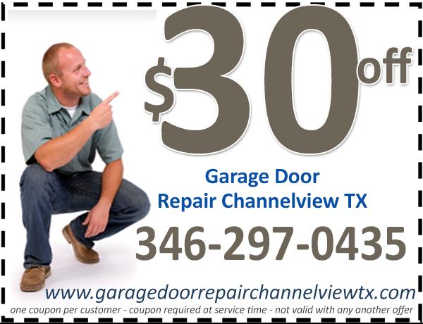 Garage Door Repair Channelview TX Coupon